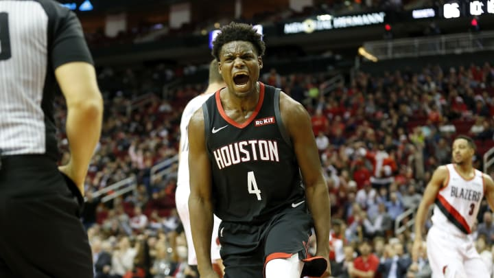 Danuel House Jr. #4 of the Houston Rockets (Photo by Tim Warner/Getty Images)