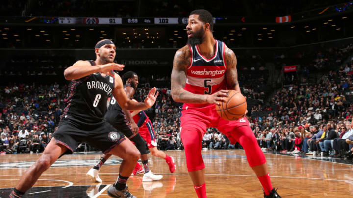 Markieff Morris #5 of the Washington Wizards (Photo by Ned Dishman/NBAE via Getty Images)