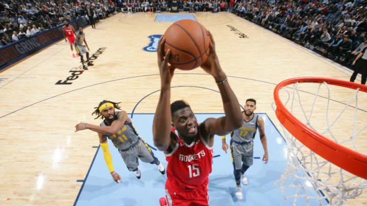 Clint Capela #15 of the Houston Rockets (Photo by Joe Murphy/NBAE via Getty Images)