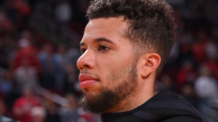 Michael Carter-Williams #1 of the Houston Rockets (Photo by Bill Baptist/NBAE via Getty Images)