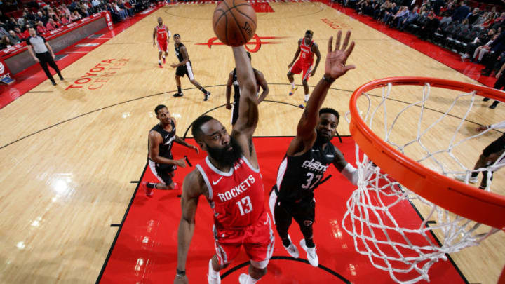 James Harden #13 of the Houston Rockets (Photo by Ned Dishman/NBAE via Getty Images)