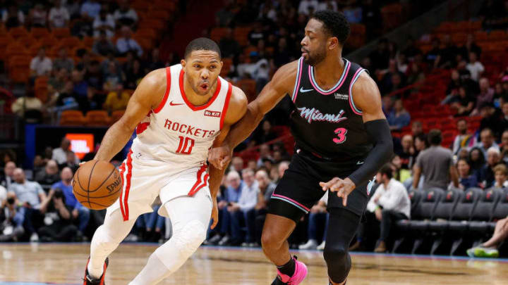 Eric Gordon #10 of the Houston Rockets (Photo by Michael Reaves/Getty Images)