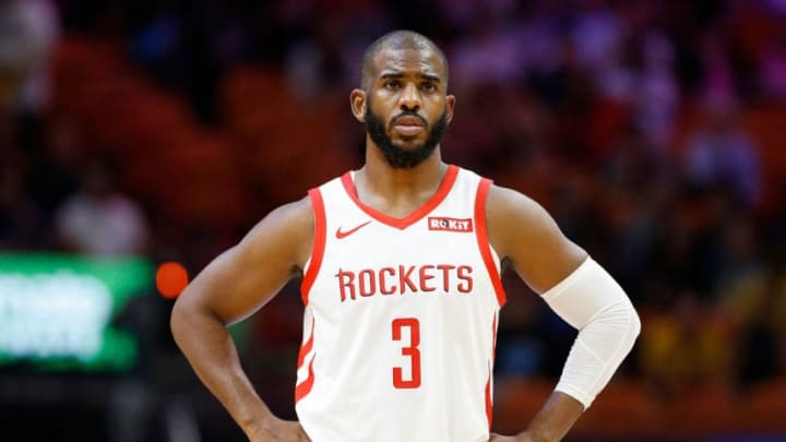 Chris Paul #3 of the Houston Rockets (Photo by Michael Reaves/Getty Images)