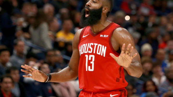 James Harden #13 of the Houston Rockets (Photo by Sean Gardner/Getty Images)
