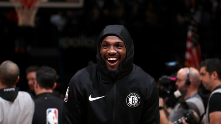 Kenneth Faried #35 of the Brooklyn Nets(Photo by Nathaniel S. Butler/NBAE via Getty Images)