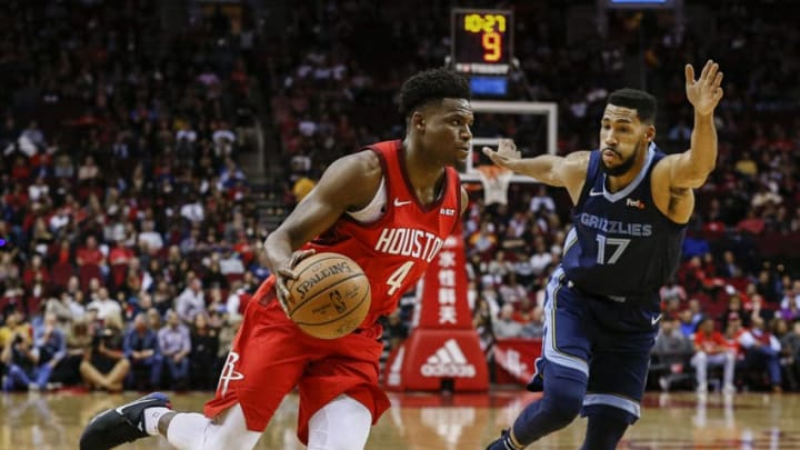 Houston Rockets Danuel House (Photo by Bob Levey/Getty Images)