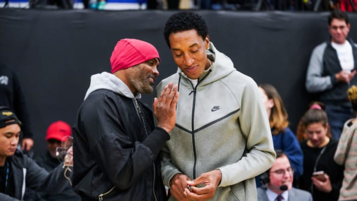 Cuttino Mobley (L) and Scottie Pippen (R) (Photo by Cassy Athena/Getty Images)