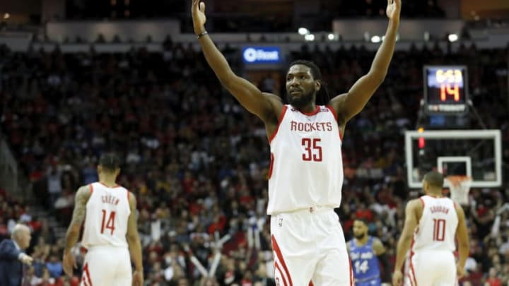 Kenneth Faried #35 of the Houston Rockets (Photo by Tim Warner/Getty Images)