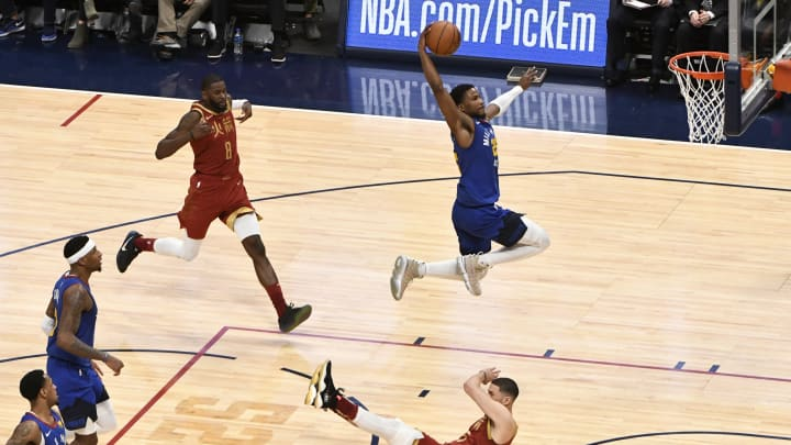 Houston Rockets Malik Beasley (Photo by Andy Cross/MediaNews Group/The Denver Post via Getty Images)