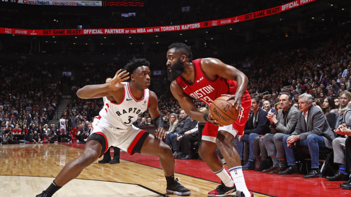 Houston Rockets OG Anunoby (Photo by Mark Blinch/NBAE via Getty Images)