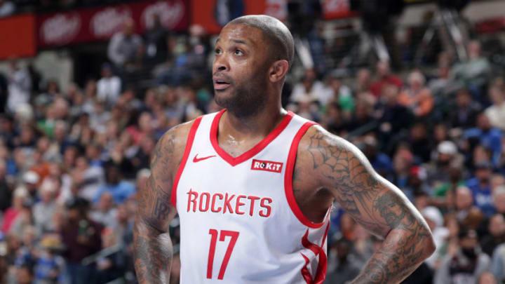 PJ Tucker #17 of the Houston Rockets (Photo by Glenn James/NBAE via Getty Images)