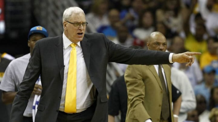 Los Angeles Lakers Phil Jackson (Photo by Jeff Zelevansky/Getty Images)