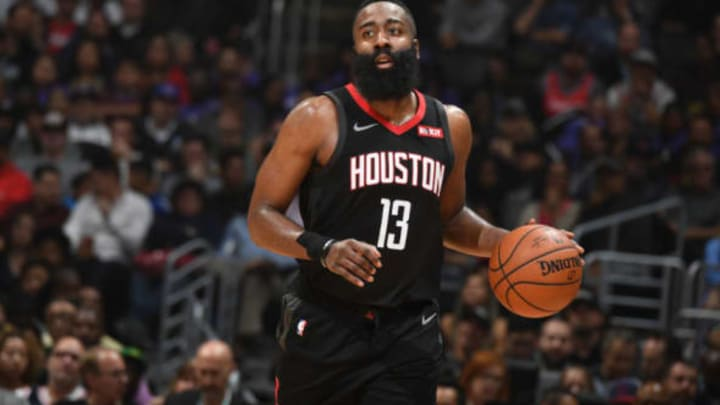 James Harden #13 of the Houston Rockets