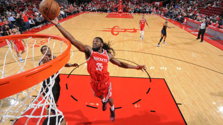 Kenneth Faried #35 of the Houston Rockets (Photo by Bill Baptist/NBAE via Getty Images)