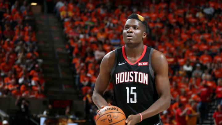 Clint Capela #15 of the Houston Rockets (Photo by Melissa Majchrzak/NBAE via Getty Images)