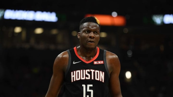 Clint Capela #15 of the Houston Rockets (Photo by Stacy Revere/Getty Images)