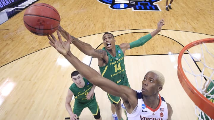 Kenny Wooten #14 of the Oregon Ducks (Photo by Kevin C. Cox/Getty Images)