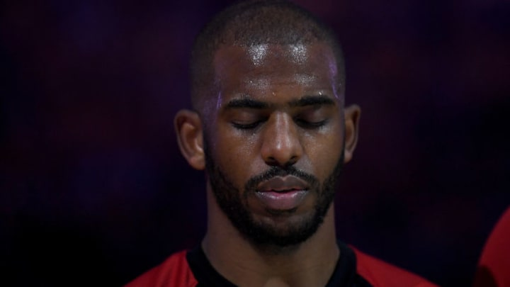 Chris Paul #3 of the Houston Rocketsm(Photo by Thearon W. Henderson/Getty Images)