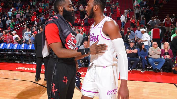 Houston Rockets Josh Okogie (Photo by Bill Baptist/NBAE via Getty Images)