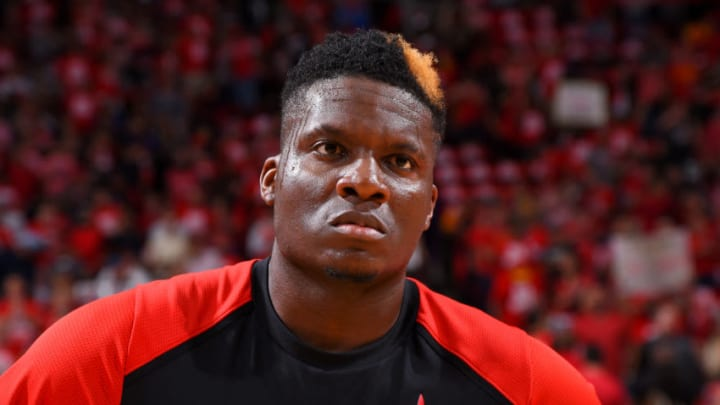 Clint Capela #15 of the Houston Rockets (Photo by Bill Baptist/NBAE via Getty Images)