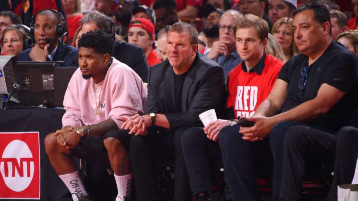 Houston Rockets owner Tilman Fertitta (Photo by Bill Baptist/NBAE via Getty Images)