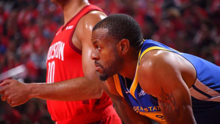 Houston Rockets Andre Iguodala (Photo by Bill Baptist/NBAE via Getty Images)