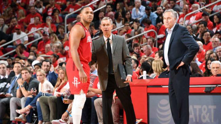 Houston Rockets Jeff BZdelik Eric Gordon (Photo by Andrew D. Bernstein/NBAE via Getty Images)