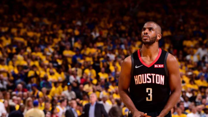 Chris Paul #3 of the Houston Rockets (Photo by Noah Graham/NBAE via Getty Images)