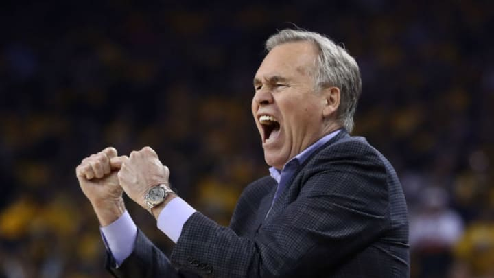 Head coach Mike D'Antoni of the Houston Rockets (Photo by Ezra Shaw/Getty Images)