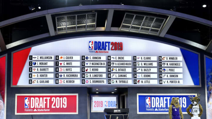 2019 NBA Draft board (Photo by Sarah Stier/Getty Images)