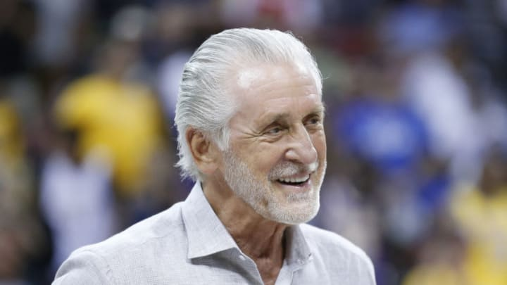 President Pat Riley of the Miami Heat (Photo by Michael Reaves/Getty Images)