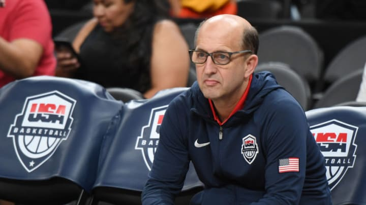 Houston Rockets Jeff Van Gundy (Photo by Ethan Miller/Getty Images)