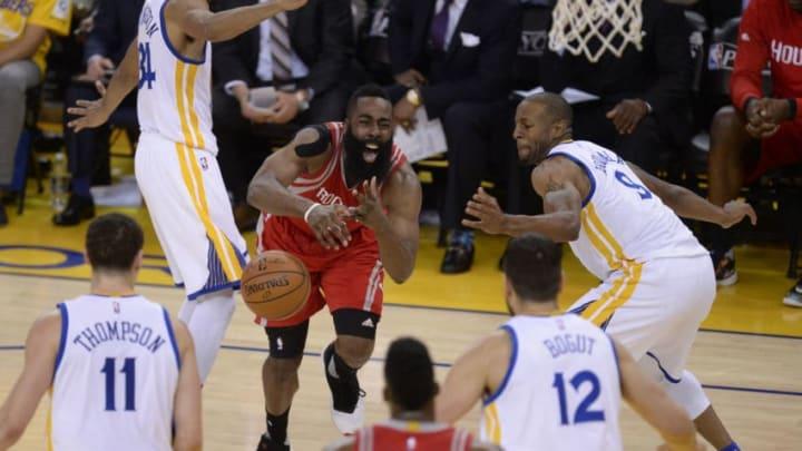 Houston Rockets James Harden (Jose Carlos Fajardo/Bay Area News Group) (Photo by MediaNews Group/Bay Area News via Getty Images)