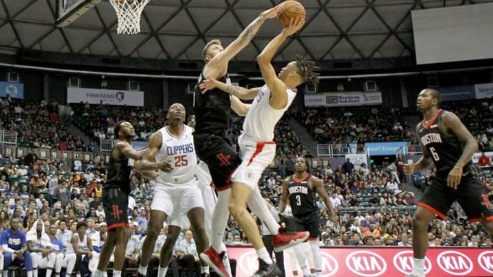 Houston Rockets Isaiah Hartenstein (Photo by Darryl Oumi/Getty Images)