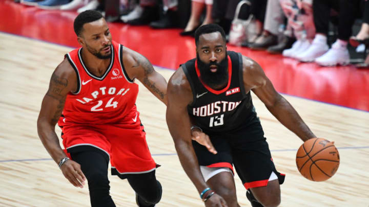 Houston Rockets James Harden (Photo by KAZUHIRO NOGI/AFP via Getty Images)