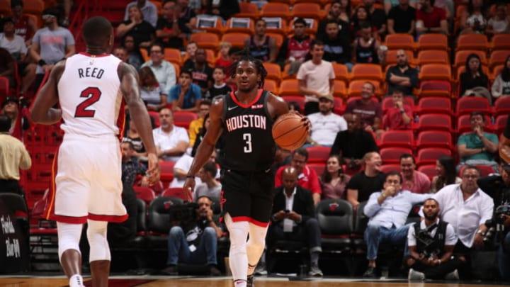 Houston Rockets Chris Clemons (Photo by Issac Baldizon/NBAE via Getty Images)