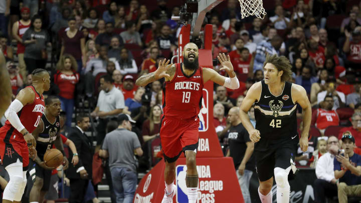 Houston Rockets Tyson Chandler (Photo by Tim Warner/Getty Images)