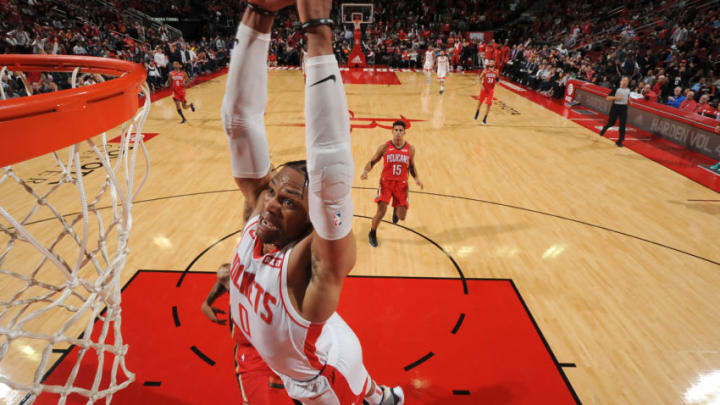 Houston Rockets Russell Westbrook (Photo by Bill Baptist/NBAE via Getty Images)