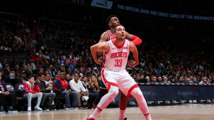 Ryan Anderson #33 of the Houston Rockets (Photo by Ned Dishman/NBAE via Getty Images)