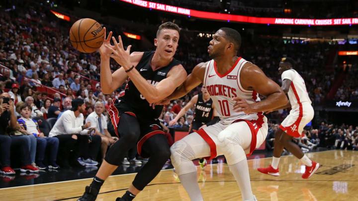 Houston Rockets Eric Gordon (David Santiago/Miami Herald/Tribune News Service via Getty Images)