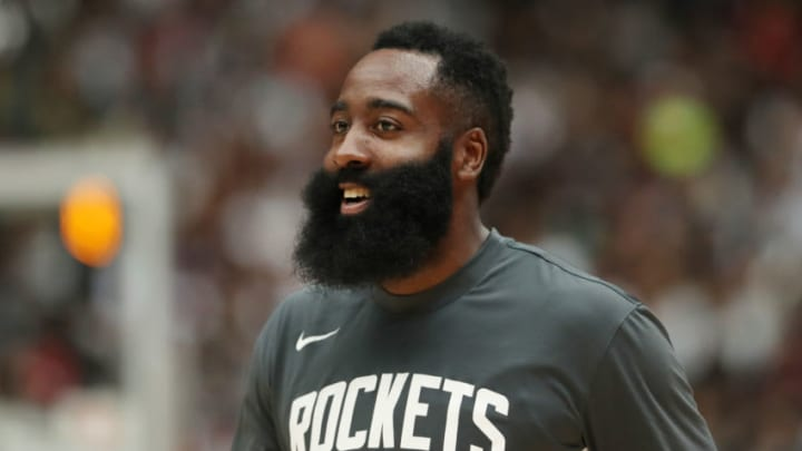 Houston Rockets - James Harden (Photo by Takashi Aoyama/Getty Images)