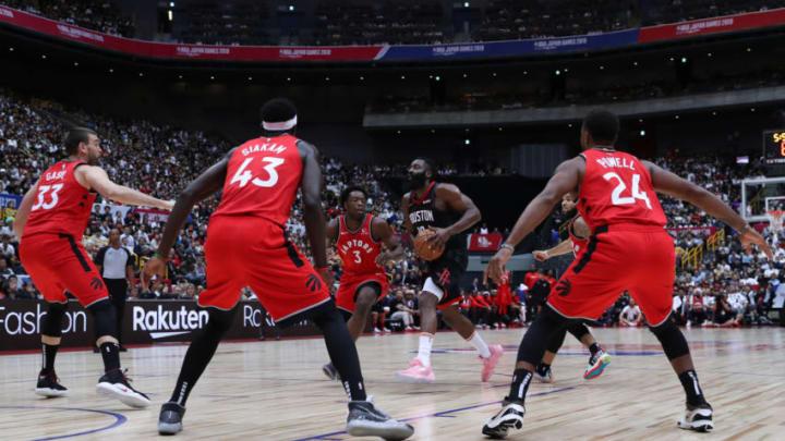 Houston Rockets James Harden (Photo by Takashi Aoyama/Getty Images)
