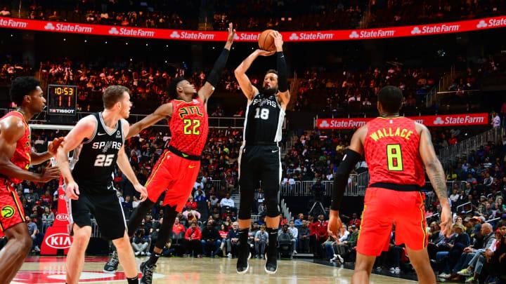 San Antonio Spurs Marco Belinelli (Photo by Scott Cunningham/NBAE via Getty Images)