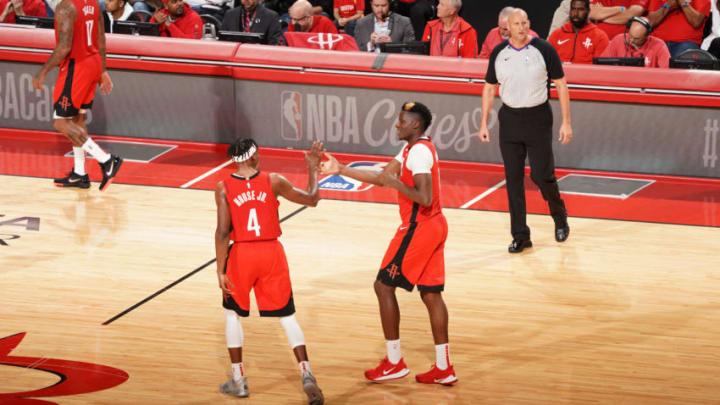 Houston Rockets Clint Capela Danuel House (Photo by Cato Cataldo/NBAE via Getty Images)