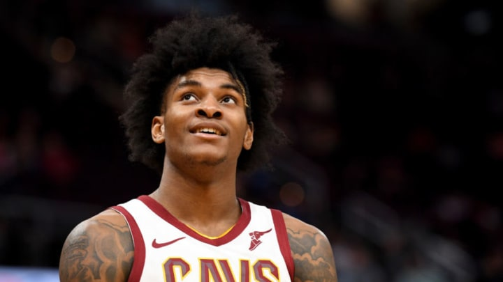 Kevin Porter Jr. #4 of the Cleveland Cavaliers (Photo by Jason Miller/Getty Images)