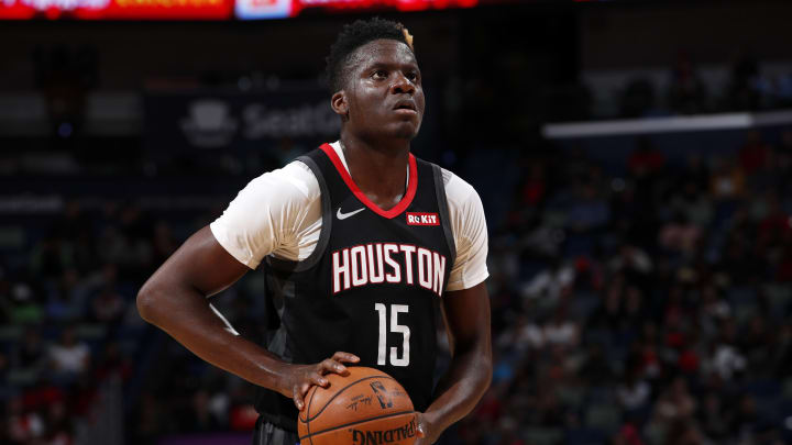 Clint Capela #15 of the Houston Rockets (Photo by Jeff Haynes/NBAE via Getty Images)