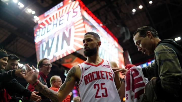 Houston Rockets Austin Rivers (Photo by Cato Cataldo/NBAE via Getty Images)
