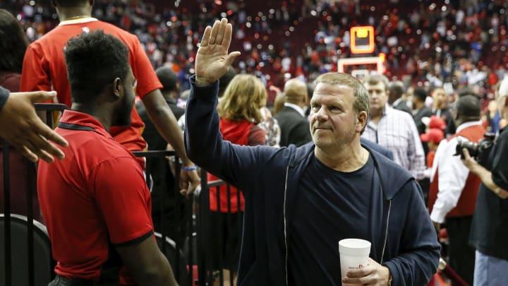 Owner Tilman Fertitta of the Houston Rockets (Photo by Tim Warner/Getty Images)