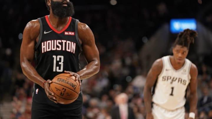 Houston Rockets James Harden (Photos by Darren Carroll/NBAE via Getty Images)