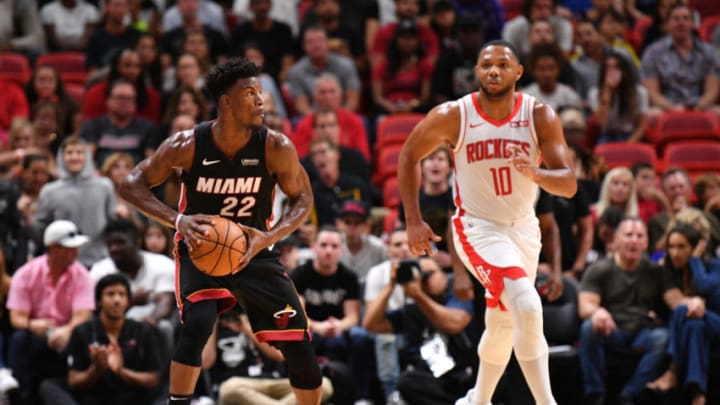 Jimmy Butler Eric Gordon (Photo by Mark Brown/Getty Images)